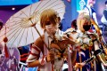 Cosplayers pose for photographs during a game show. Some Japanese cosplayers have called for a framework to obtain copyright holders' permission for costumes. Photo: AFP