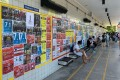Some universities in Hong Kong have warned student unions against displaying politically sensitive material on campus notice boards. Photo: Handout