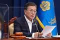 South Korean President Moon Jae-in. Photo: Yonhap/DPA