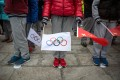 Can China quell the controversy and put on a well-received 2022 Winter Olympics in Beijing? Photo: EPA