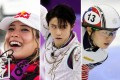 Chinese skier Eileen Gu, Japanese figure skater Yuzuru Hanyu and South Korean speed skater Shim Suk-hee are some of the Beijing Winter Olympics most exciting Asian athletes. Photo: AP