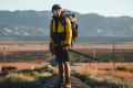 Joshua Leung Nok-yan hiking the Pacific Crest Trail, a life-changing experience that teaches him about unconditional regard for others and perseverance. Photos: Joshua Leung