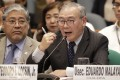 Philippine Secretary of Foreign Affairs Teodoro Locsin. Photo: AP