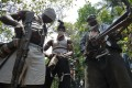 Masked gunmen pictured in Nigeria's oil-rich Rivers State in 2007. Kidnapping for ransom used to be common in Nigeria's oil-producing south but has lately spread to the other parts of the country. Photo: AFP
