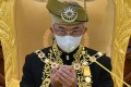 Malaysia's Sultan Abdullah Sultan Ahmad Shah plays a largely ceremonial role as a constitutional monarch but a new movement is calling on him to take steps over the coronavirus pandemic or change the government. Photo: AFP