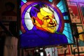 """A stained glass window bears the image of late Chinese leader Deng Xiaoping at a shop at Nanluoguxiang, one of the oldest alleyways in Beijing, on December 17. Deng said in 1984 that """"patriots governing Hong Kong"""" must underpin the """"one country, two systems"""" principle after the city's return to Chinese sovereignty. The catchphrase is gaining currency amid the currently politically fractured landscape. Photo: Simon Song"""