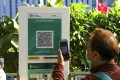"""Hongkongers have raised privacy concerns over using the """"Leave Home Safe"""" app. Photo: Sam Tsang"""