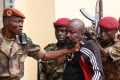Troops arrest Central African MP Alfred Yekatom, aka 'Rambo', in 2018. File photo: AFP