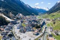 An aerial view of the village of Ischgl, Austria. File photo: AFP