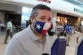 US Senator Ted Cruz at Cancun International Airport before boarding his plane back to the US. Photo: Reuters