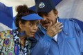 Nicaragua's President Daniel Ortega and his wife and Vice-President Rosario Murillo. Photo: AP