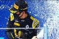 China's Zhou Guanyu celebrates his first Formula Two victory at Sochi in 2020. Photo: Instagram/Zhou Guanyu