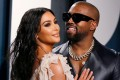 Kim Kardashian and Kanye West pictured in February 9, 2020. Photo: Reuters