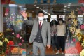 Director of Broadcasting Leung Ka-wing leaves RTHK Headquarters in Kowloon Tong on Friday. Photo: May Tse