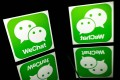 On the Chinese platform WeChat, entire news organisations set up their own platforms known as WeChat Official Accounts. Photo: AFP