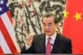 China's Foreign Minister Wang Yi has laid out Beijing's conditions for improved US-China relations. Photo: AFP