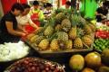 Mainland China has banned imports of Taiwanese pineapples. Photo: Xinhua