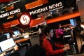 Newsroom at Phoenix Television Corporation at the Tai Po Industrial Estateon March 28, 2011. Photo: SCMP
