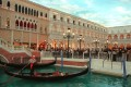 The Venetian in Las Vegas, Nevada. The global pandemic shuttered the Strip, where Las Vegas Sands is the biggest operator. Photo: AFP