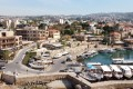 The port of Byblos during a lockdown to curb the spread of the coronavirus in Lebanon. File photo: Reuters