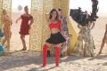 Bollywood star Kiara Advani pictured on set in Dubai for her 2020 film 'Laxmmi'. Photo: Handout