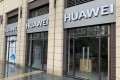 A permanently closed Huawei store in Donlim Emperor Court, a shopping centre in the southern Chinese city of Foshan, Guangdong province, China, on March 4, 2021. Photo: Josh Ye
