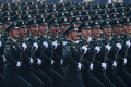 China usually holds a huge military parade every decade to mark its national day but says it will not be part of centenary celebrations in July. Photo: AFP