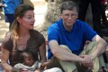 Bill and Melinda Gates during a visit to a village in India's Bihar's state in 2011 File photo: AFP