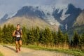 Ling Jiang at the UTMB in Chamonix, which will serve as the new World Series final. Photo: UTMB