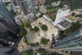 An aerial view of the commercial site at Caroline Hill Road, Causeway Bay. Photo: Martin Chan