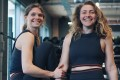 Tamara and Lamorna Short found CrossFit helped them overcome personal battles, and also resulted in the launch of clothing line Blue Elvin. Photo: Blue Elvin