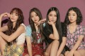 K-pop girl group Brave Girls (from left) Eunji, Yujeong, Minyong, and Yuna. They had one of 2021's biggest hits in South Korea with Rollin', released four years ago. They should thank their female fans for its success more than their male ones. Photo: Brave Entertainment