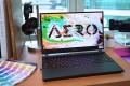 Gigabyte's Aero Creator laptop. Photo: Handout