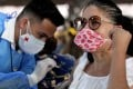 A teacher gets the CanSino Biologics shot in Guadalajara, Mexico. A phase 3 trial of a Chinese experimental vaccine based on mRNA technology will begin in the country this month. Photo: AFP