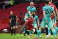 Eric Bailly's challenge on Liverpool's Nat Phillips almost cost his team in the Premier League clash. United don't have the same stability when the Ivorian plays. Photo: AFP