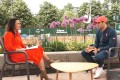 Roger Federer is interviewed by Leman Bleu in which he gave his views about the Tokyo Olympics. Photo: Leman Blue