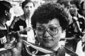 Cat Che Kut-hung in a file photo after she won the gold medal of Women's Single Bowling of the 10th Asian Games in Seoul in 1986.