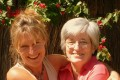 """Anthea Rowan and her mother Leontia Stephen, who has dementia. """"When did we first meet?"""" Stephen asked one evening. Mental and physical exercise may slow dementia patients' decline, studies show."""