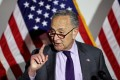 US senators voted to advance a bill to counter China in tech, introduced by Senate Democratic leader Chuck Schumer. Photo: Reuters