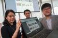 The University of Hong Kong Law and Technology Centre team behind the new sentencing prediction comprogram. Photo: Sam Tsang