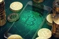 Bitcoin was trading at around US$43,860 late on Tuesday, compared with US$55,000 a week earlier. Photo: Handout