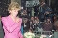 Princess Diana leaves a bookshop in Paris. File photo: AFP