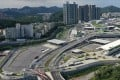 """The Liantang Port/Heung Yuen Wai Boundary Control Point opened in August 2020. Plans to build a science park and industrial estates nearby would provide opportunities for companies looking to export """"made in Hong Kong"""" goods to mainland China. Photo: SCMP"""