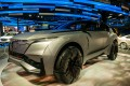A concept of Chongqing Changan Automobile's Yueyue sports-utility vehicle (SUV) at the 2017 Shanghai Auto Show. Photo: Mark Andrews.