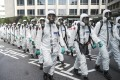 Taiwan has reintroduced strict coronavirus containment measures after a spike in cases. Photo: CNA