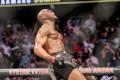 Kamaru Usman celebrates his victory over Jorge Masvidal at UFC 261. Photo: AFP