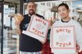 "Nick ""Stove"" Santiago (left) and Matthew Hwang, co-founders of Pizzaslime."