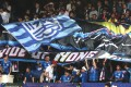 Kitchee fans show their support ahead of the 2018 AFC Champions League group game against South Korean K-League side Jeonbuk Hyundai Motors at Hong Kong Stadium. Photo: Jonathan Wong