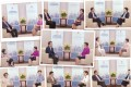 Hong Kong leader Carrie Lam hosted her own 40-part TV show featuring her talking to a variety of guests on the city's electoral changes.