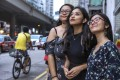 (From the left) Saiksha Gurung, Bidhya Shrestha and Sharon Rai hope to empower marginalised women through their Hong Kong-based NGO Aama Ko Koseli. While members of Hong Kong's ethnic minority communities can offer valuable input on matters concerning their own societies, they are also willing and able to serve all of Hong Kong. Photo: Nora Tam